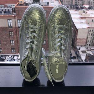 Converse ⭐️ silver shiny